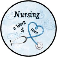 Nursing Work Blue BR