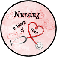 Nursing Work Red BR