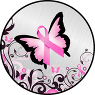 Awareness BFly Pink BR