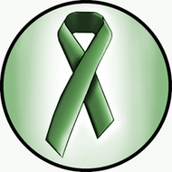 Dark Green Ribbon BR