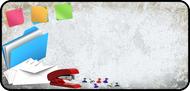 Office Collage Grunge