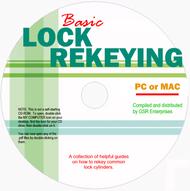 Basic Lock Rekeying CD - Featuring 6 pdf ebooks