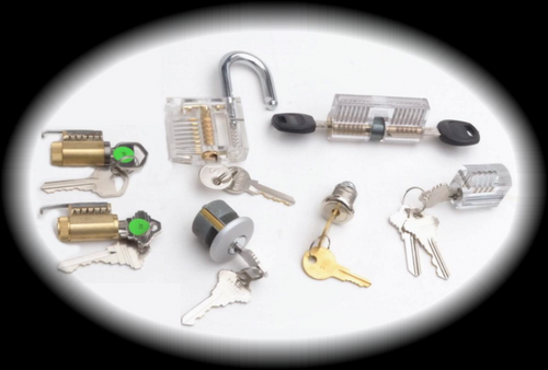 New For 2018 - The PRACTICE LOCK MEGA PACK -- 7 assorted practice locks