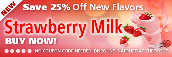 Strawberry Milk is sweet, pink-tasting*, delicious and creamy!  An old-fashioned treat with none of the guilt!