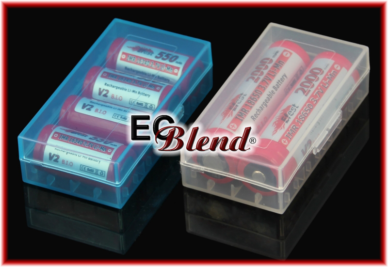 18650 Battery Case at ECBlend Flavors