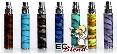 Batery eGo Fancy Swirl EgoD Colors at ECBlend Flavors