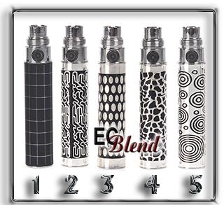 eGo 510 Battery - Laser Etched at ECBlend Flavors