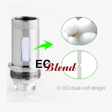 Clearomizer Replacement Head - SmokTech - TCT Ni200 Core - Blister Pack of 5 at ECBlend E-Juice