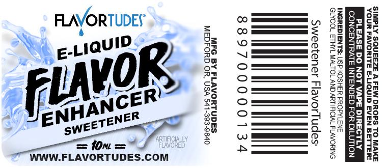 FlavorTudes® - E-Liquid Flavor Enhancer - Sweetener