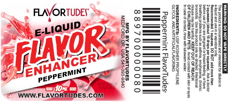 FlavorTudes® - Flavor Shots! - Peppermint