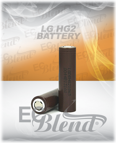 Authentic LG HG2 Batteries at ECBlend Flavors