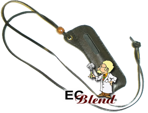 eGo Battery Leather Lanyard at ECBlend Flavors