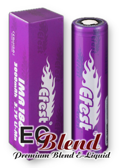 Efest 3000mah 35amp 18650 Battery at ECBlend Flavors