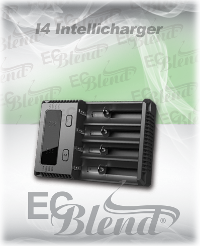 Nitecore I4 Intellicharger 4 Bay Charger at ECBlend Flavors