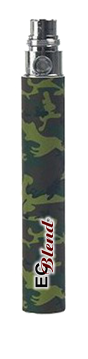 Camouflage 1100mah EGO style battery at ECBlend Flavors