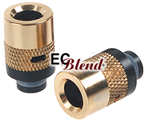 Wide Bore Drip Tip with Adjustable Airflow Control at ECBlend Flavors