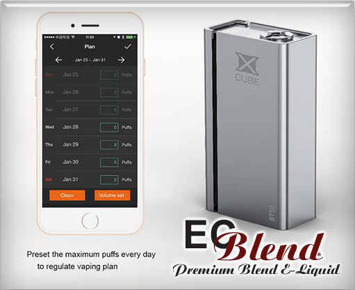 SmokTech - X-Cube - Collector's Edition Box Mod at ECBlend eJuice Flavors
