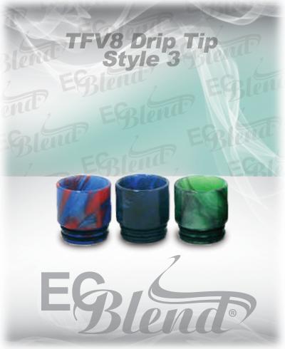 TFV8 Epoxy Resin Drip Tip Style 3