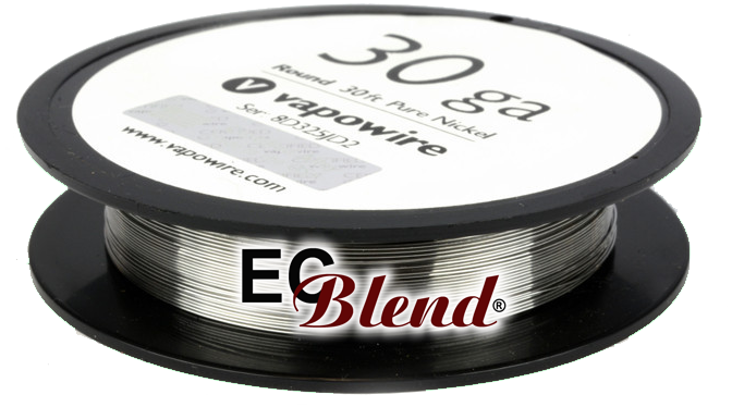 Pure Nickel Ni200 wire at ECBlend Flavors