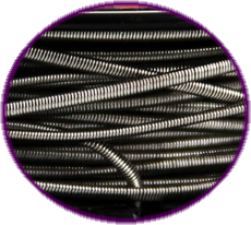 Close up of prewound Fused Clapton Wire at ECBlend Flavors