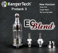 Kanger ProTank 3 Clearomizer at ECBlend E-Liquid Flavors