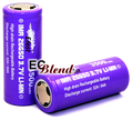 Battery - Efest - 26650 - Purple - 32 Amp High Drain - Flat Top at ECBlend Flavors