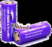 Battery - Efest - 26650 - Purple - 32 Amp High Drain - Flat Top at ECBlend Flavors
