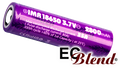 Efest 18650 Purple 2800mAh 35Amp High Drain Battery at ECBlend Flavors