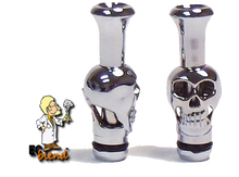 Skull shaped drip tips at ECBlend Flavors