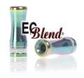 Stainless Steel Rainbow drip tip at ECBlend Flavors