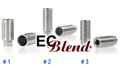 Stainless Steel Silencer Drip Tips at ECBlend Flavors