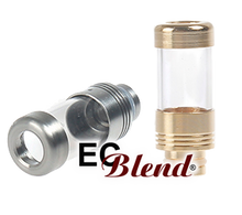 Pyrex and Stainless Steel Drip Tip at ECBlend Flavors