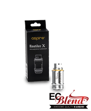 Aspire Nautilus X Replacement Coils at ECBlend Flavors