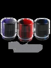 TFV8 Acrylic Half Ribbed Drip Tip at ECBlend Flavors