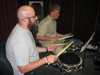 Woody Dantagnan Teaches Drum Lessons in New Orleans at Ray Fransen's Drum Center