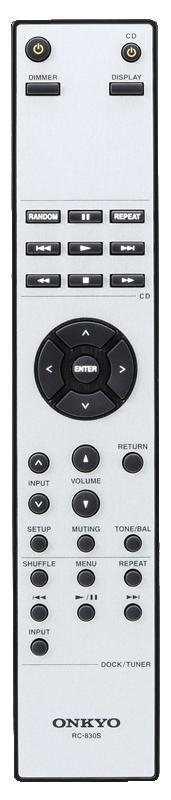 Onkyo A9070 Remote