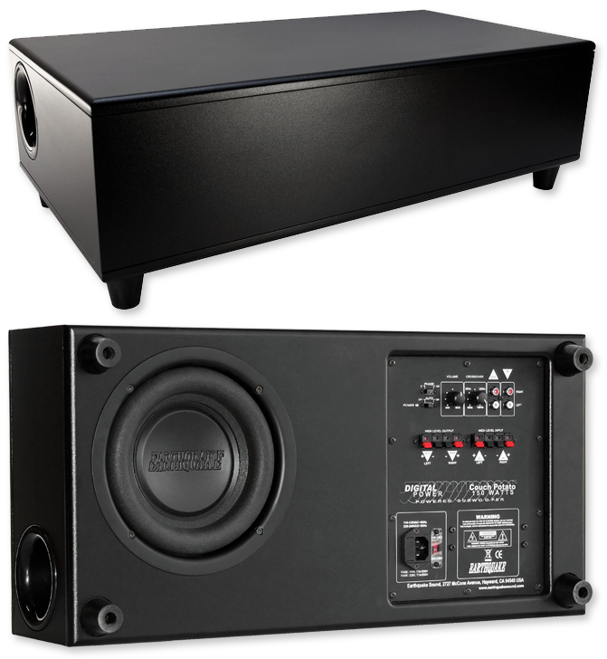 Earthquake Cp8 8 150w Couch Potato Active Subwoofer Av