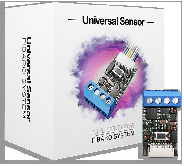 Z wave universal binary sensor