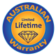 Lifetime Australian Warranty*