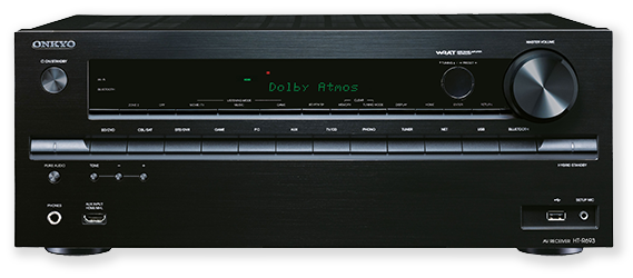 Onkyo HT-S7705 5.1.2 home theatre front view