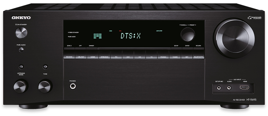 Onkyo HT-S7805 Dolby Atmos & DTS-X 5.1.2-Ch AV Receiver - front