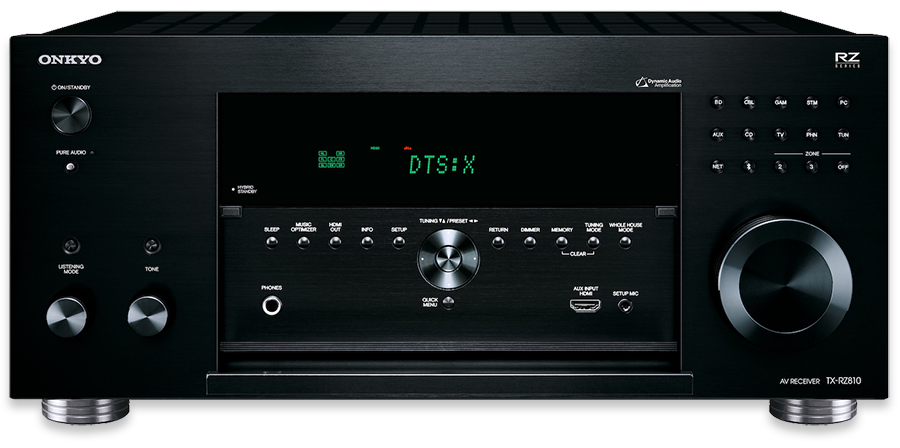 Onkyo TX-RZ810 7.2-Channel THX, DTS:X & Dolby Atmos Ready Network A/V Receiver