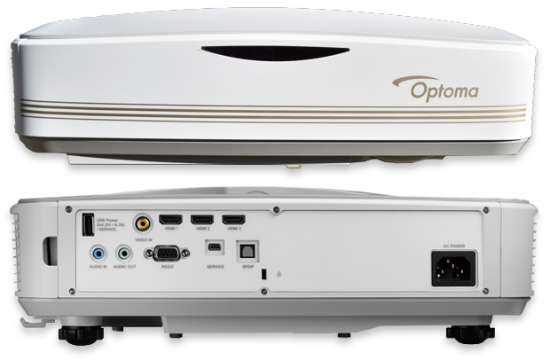Optoma LCT100 Full HD Laser Ultra Short Throw Projector