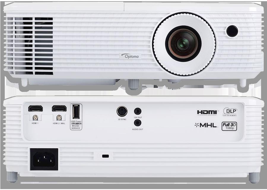 Optoma OP-HD27 Full HD 3D High Brightness Home Theatre DLP Projector