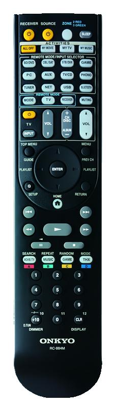 Onkyo TX-NR1030 Remote
