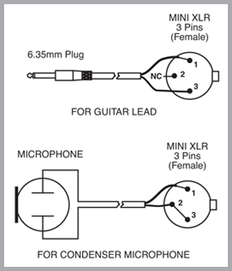 redback-uhf-wireless-microphone-system-wiring-for-mini-xlr-jack Xlr Mic Wiring Diagram on 1 rca unbalanced, 3-pin microphone, 4 pin connector, plug rca, 1 4 inch mono plug, audio cable, unbalanced mono female, capacitor prevent rf, stereo rca, male connector,
