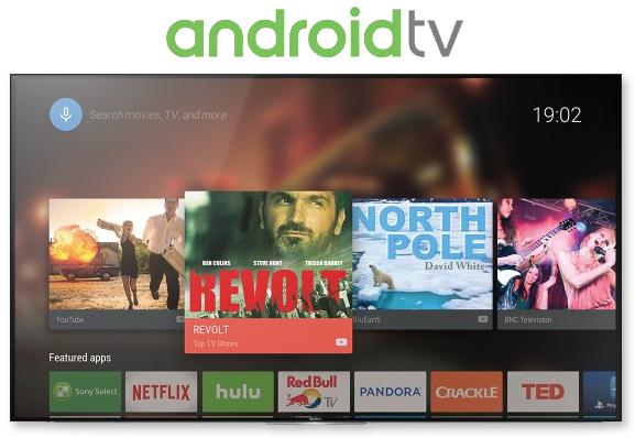 Sony Android TV - A world of possibilities