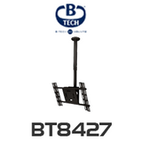 "B-Tech 30""-65"" Adjustable Telescopic Flat Screen Ceiling Mount with Tilt"