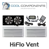 Cool Components HiFlo Vent System