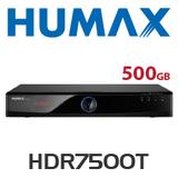 Humax HDR7500T Dual Tuner HD PVR (500GB)